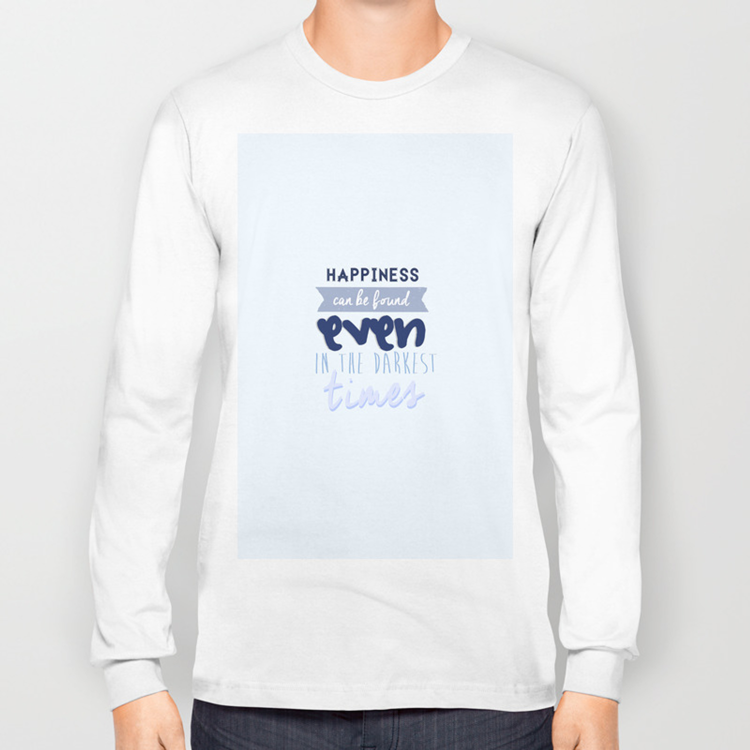 13ef42d5 Harry Potter Quote Long Sleeve T-shirt by davosseafood | Society6