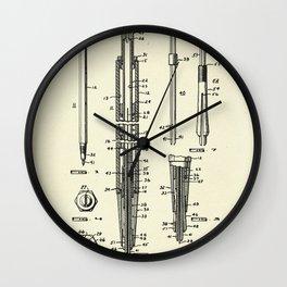 Pincel-1955 Wall Clock