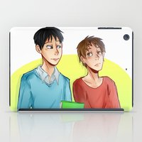 yaoi iPad Cases featuring Stolovan by IanShan