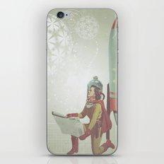Space Woman iPhone & iPod Skin