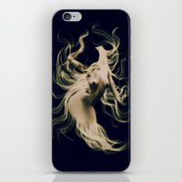goddess iPhone & iPod Skins featuring Goddess  by    Amy Anderson