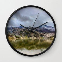 Lakes of Covadonga Wall Clock
