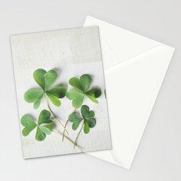 Shamrock Family Stationery Cards