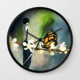Tête à Tête Wall Clock