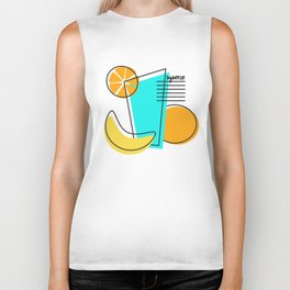 Squeeze T-shirt Biker Tank