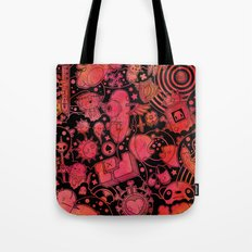 Son of Dooome (red) Tote Bag