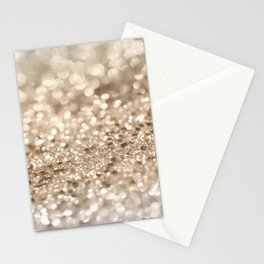 Gold Lady Glitter #2 #shiny #decor #art #society6 Stationery Cards