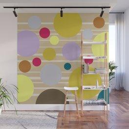 STRIPES & DOTS 4-2018 Wall Mural