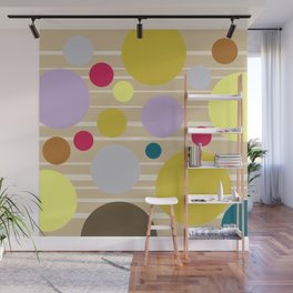 STRIPES & DOTS 4-2018 Wall Mural
