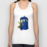 lemongrab Tank Tops featuring Doctor Lemongrab  by MUSENYO