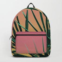 Vaporwave Palm Life - Miami Sunset Backpack