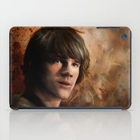 winchester iPad Cases featuring Sam Winchester by Jackie Sullivan