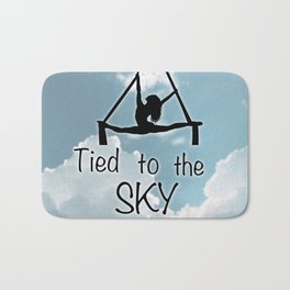 "Aeiralist ""Tied to the Sky"" Graphic Bath Mat"