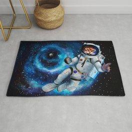 Space cat Rug