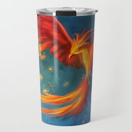 Beautiful phoenix Travel Mug