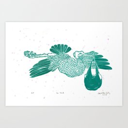 The Stork Art Print