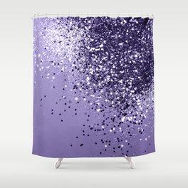ULTRA VIOLET Glitter Dream #1 #shiny #decor #art #society6 Shower Curtain