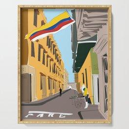 Cartagena de Indias, Colombia Serving Tray