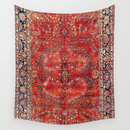 Sarouk Arak West Persian Carpet Print Wall Tapestry