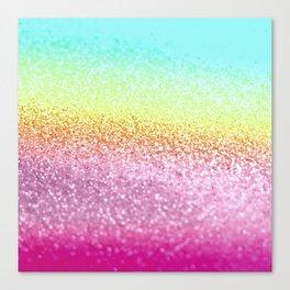 UNICORN GLITTER Canvas Print