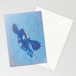 Kyogre Stationery Cards