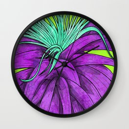 As It Grows Wall Clock