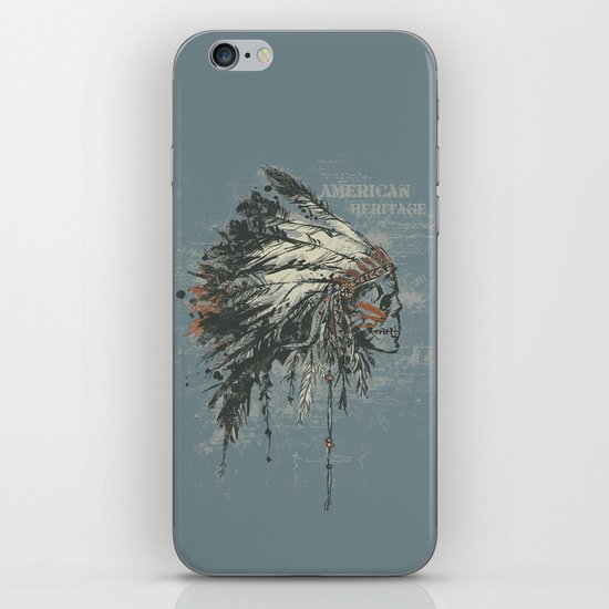 American Heritage (Dark) iPhone & iPod Skin