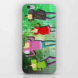 Katamari Cousins Set iPhone Skin