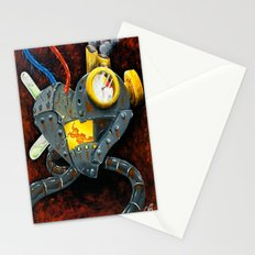 My rusted heart  Stationery Cards