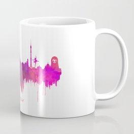 Skyline Moscow purple Coffee Mug