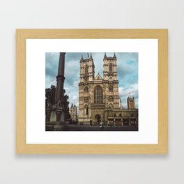 Westminster in Summer. Framed Art Print