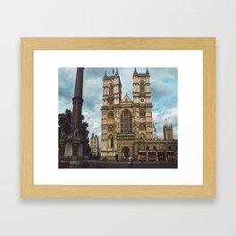 Westminster in Summer. Framed Art Print