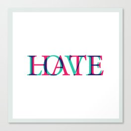 Love and Нate Canvas Print