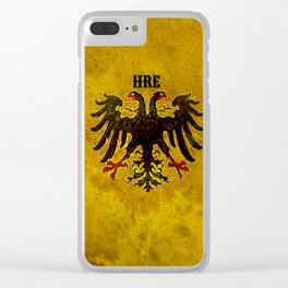 Holy Roman Empire Clear iPhone Case