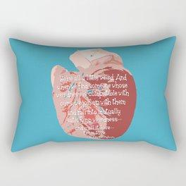 Weird Love Rectangular Pillow