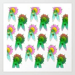 Cicadas Parade Art Print