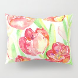 Mothers Day Tulips Pillow Sham