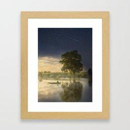 Magic morning Framed Art Print