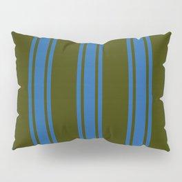 Dark striped pattern Pillow Sham