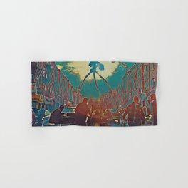 War of the worlds Alien Artistic Illustration Blood Drops Style Hand & Bath Towel