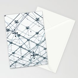 Underneath the Louvre Pyramid Stationery Cards