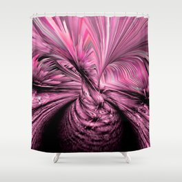 iDeal - Tunnel Vision - Pink Shower Curtain