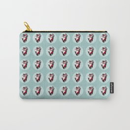 Minty Bubble Heart vol. 2 Carry-All Pouch