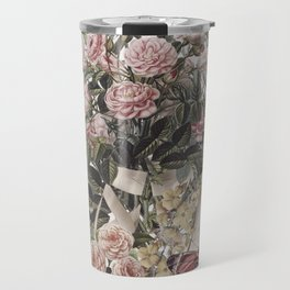 BALLERINA SHOES WITH FLOWERS - VINTAGE Travel Mug
