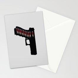 Art not War - Grey Stationery Cards