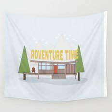 Time for Adventure  Wall Tapestry