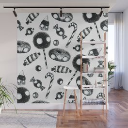 Creepy Candy Wall Mural