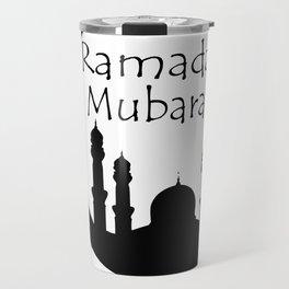 Ramadan Mubarak Travel Mug
