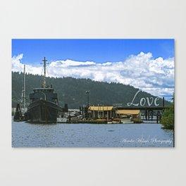 Love Harbor Canvas Print