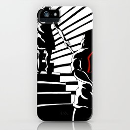 Before The Crime Noir iPhone Case